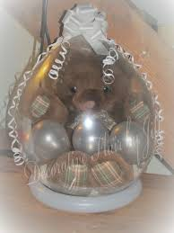 teddy bears inside balloons big stuffed teddy with balloons inside a balloon craft ideas