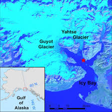 Maps Of Alaska by Map Of Icy Bay Alaska Image Eurekalert Science News