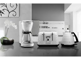 Delonghi Kettle And Toaster Sets Brillante Kettle White Kettles Delonghi Australia
