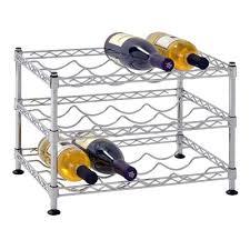 ski chair snow 3 bottle tabletop wine rack u0026 reviews wayfair