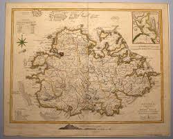 Antigua Map Antigua