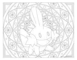 258 mudkip pokemon coloring page windingpathsart com