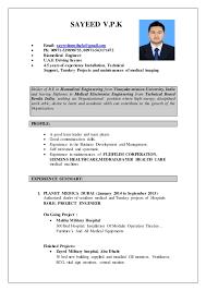 biomedical engineer resume biomedical engineer cv 1