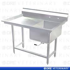 stainless steel laundry sink stainless steel utility sink with drainboard