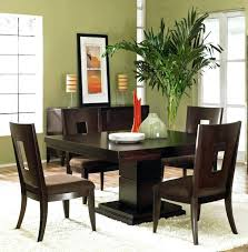 shaker espresso 6 piece dining table set with bench espresso dining tables espresso dining table with removable leaf by