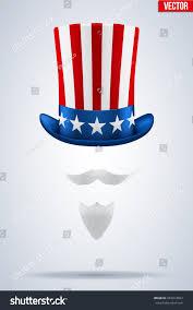menorah hat sams symbol hat beard mustache stock vector 453914593
