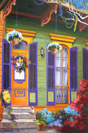new orleans colorful houses new orleans homes alla s fine art