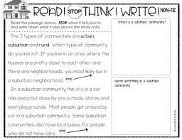 reading passage 1st grade reading passages 1st grade communities reading passages questions