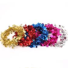 pine tinsel garland wreaths headband hair band