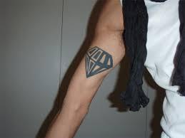 30 attractive diamond tattoos creativefan