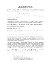 Business Proposal Letter Template Doc 12751650 10 Best Images Of Accounting Services Proposal