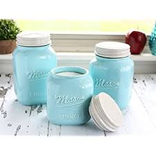 fashioned kitchen canisters amazon com dii 3 pieces vintage retro farmhouse chic