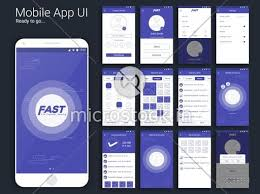 file transfer and sharing mobile app material design ui ux and