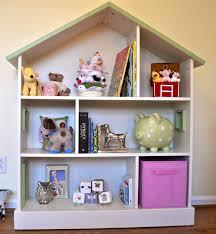 Baby Nursery Bookshelf Baby Nursery Bookcase Oak Laminate Floor Purple Wooden Storage