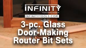 intro to 3 pc glass door making router bit sets 91 526 youtube