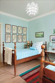 Light Blue And Yellow Bedroom Gracious Guest Bedroom Decorating Ideas Southern Living