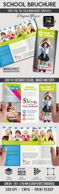 play school brochure templates school free psd tri fold psd brochure template by elegantflyer