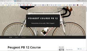 peugeot road bike bertin classic cycles a weblog about andre bertin u0027s bicycles