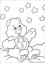care bears coloring 030 crafty 80 u0027s care bears coloring