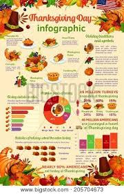 thanksgiving day infographic vector photo bigstock