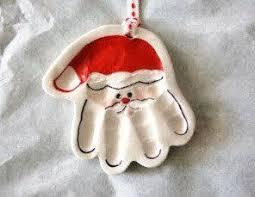 custom baby ornaments baby handprint santa ornament custom baby christmas ornament