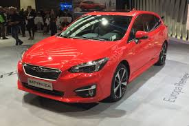 2017 subaru impreza hatchback red new 2018 subaru impreza revealed in european spec at frankfurt