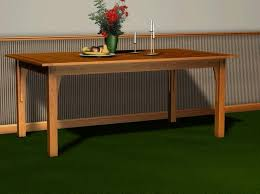 Woodworking Plans Dining Table Free by 123 Best Dining Table Plans Images On Pinterest Dining Tables
