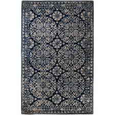 Gray Blue Area Rug Surya Smithsonian Collection Wool Area Rug In Slate Blue Dove
