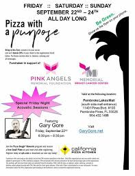 California Pizza Kitchen Rewards by With A Purpose At California Pizza Kitchen 3 Day Event