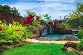 Backyard Lawn Ideas Tropical Backyard Landscaping Ideas Great Backyard Landscaping