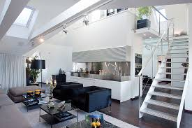 penthouse design modern penthouse with skylights idesignarch interior design