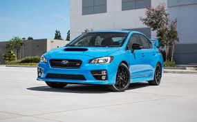 subaru wrx gti subaru wrx wrx sti and brz limited edition hyper blue models