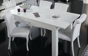 White Gloss Dining Room Table by White Gloss Dining Table Table Designs