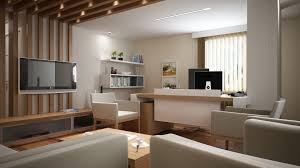 view in gallery narrow office luxury basement home office design