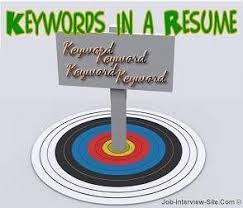 keywords for resumes resume keywords for resumes u2013 keywords list
