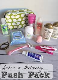 expecting gift diy push pack for s hospital bag bag and gift