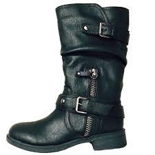 brown moto boots report footwear moto inspired matt boots in dark tan brown