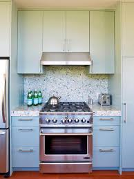 Blue Cabinets Kitchen by Ceramic Tile Backsplashes Pictures Ideas U0026 Tips From Hgtv Hgtv