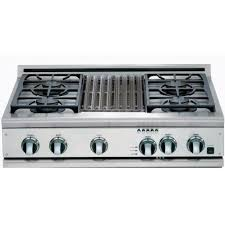 Thermador Cooktop With Griddle Kitchen Best 36 Gas Cooktop With Downdraft Roselawnlutheran About