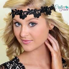 forehead headbands shop flapper lace headband on wanelo