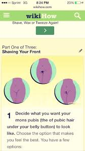 mons pubis hair 6 ways to shave your bikini area without getting razor bumps