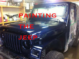it u0027s time to paint the jeep in a dirty garage youtube