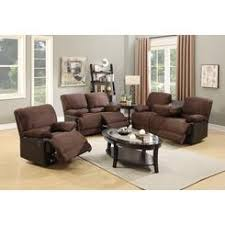 Leather Couches And Loveseats Microfiber Recliner Loveseat Sofa Set
