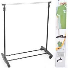 cloth hanging stand images unbelievable adjustable mobile clothes