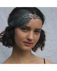 gatsby headband spectacular deal on gray 1920s headband great gatsby headpiece