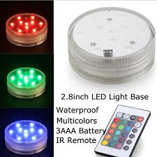 Remote Controlled Lights Online Shop 4pcs Multicolor Led Remote Control Waterproof