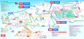 Nyc Maps Maps Update 7421539 Nyc Map Of Tourist Attractions New York With