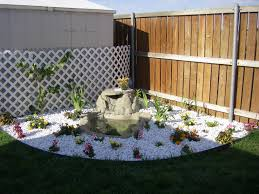 adding color to the back corner of the yard got this waterfall at