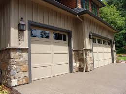 Install Wainscoting Over Drywall Natural Stone Veneer Wainscot Around Garage New Construction