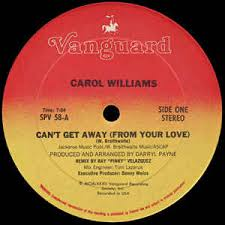 carol williams can t get away from your vinyl at discogs